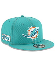 Miami Dolphins On-Field Sideline Road 9FIFTY Cap