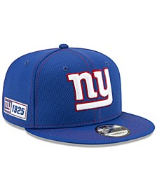 New York Giants On-Field Sideline Road 9FIFTY Cap