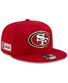 San Francisco 49ers On-Field Sideline Road 9FIFTY Cap