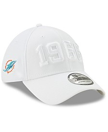 New Era Miami Dolphins On-Field Alt Collection 39THIRTY Stretch Fitted Cap