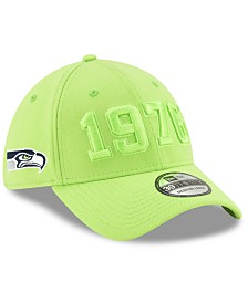 New Era Seattle Seahawks On-Field Alt Collection 39THIRTY Stretch Fitted Cap