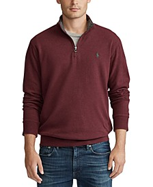 Men's Big & Tall Luxury Jersey Pullover