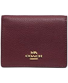 COACH Ott Colorblock Small Snap Wallet