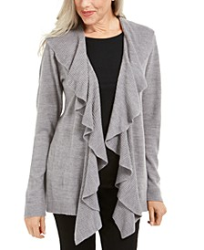 Ruffle-Front Cardigan, Created for Macy's