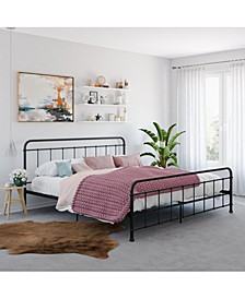 Belmont Metal Bed, King Size