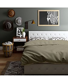 Dana Upholstered King Bed with Storage