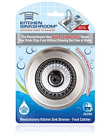 Kitchen Revolutionary Clog free Stainless Steel Kitchen Sink Strainer