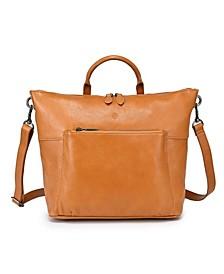 Sunny Grove Leather Crossbody Bag