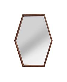 Stratton Home Decor Jojo Wood Mirror