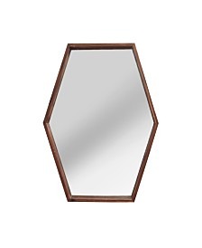 Stratton Home Decor Jojo Wood Mirror