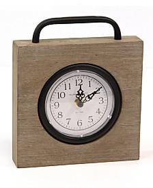 Stratton Home Decor Jose Table Top Clock