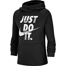 Big Boys Dri-FIT Training Just Do It Graphic Hoodie
