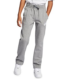 Big Boys Sportswear Club Fleece Open-Hem Pants