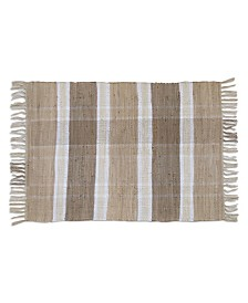 "Quality Living Plaid Kota Accent Rug 27""x45"""