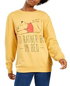 Juniors' Pooh Bear Sweatshirt