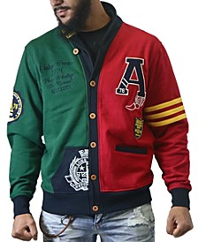 Men's Varsity Cardigan Sweater