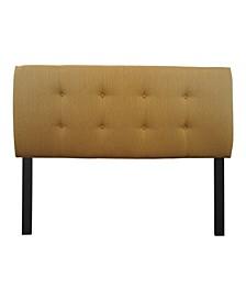 Candice Adjustable Upholstered Headboard, Twin Size