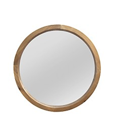 Stratton Home Decor Maddie Wood Mirror