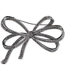 Pavé Bow Pin, Created for Macy's