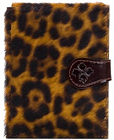 Patricia Nash Leopard Passport Case