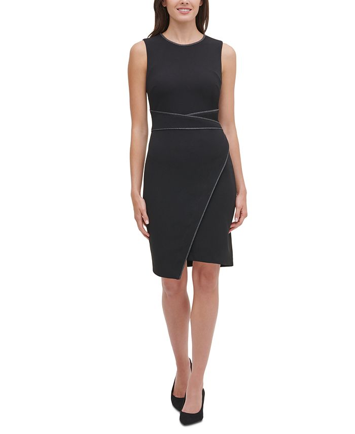 Tommy Hilfiger - Piped Sheath Dress