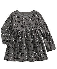 Baby Girls Leopard-Print Tunic, Created For Macy's