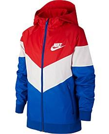 Big Boys Sportswear Windrunner Hooded Jacket