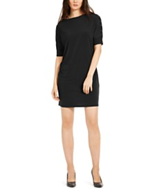 Michael Michael Kors Grommet-Trim Shift Dress