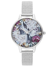Women's Under The Sea Stainless Steel Mesh Bracelet Watch 34mm