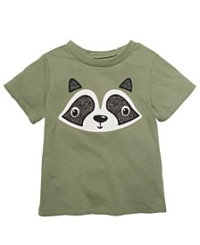Toddler Boys Raccoon-Print Cotton T-Shirt, Created For Macy's