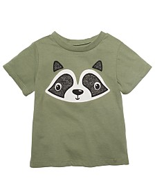 First Impressions Baby Boys Cotton Raccoon T-Shirt, Created for Macy's