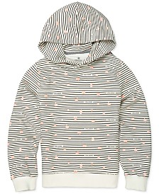 Volcom Big Girls Knew Wave Striped Fleece Hoodie