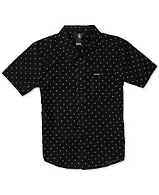 Volcom Toddler & Little Boys Newmark Printed Cotton Shirt