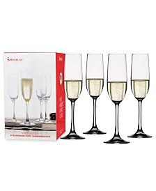 Spiegelau 6.3 Oz Vino Grande Champagne Glass Set of 4