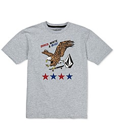 Big Boys Eagle-Print T-Shirt