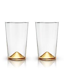 Viski Belmont Pointed Cocktail Tumblers