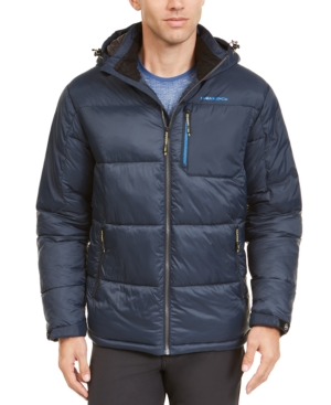 Hawke & Co. Outfitter Men's Puffer Jacket, Created For Macy's In Hawke Navy
