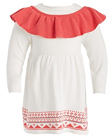 Baby Girls 2-Pc. Cotton Bodysuit & Sweater Jumper Set, Created For Macy's