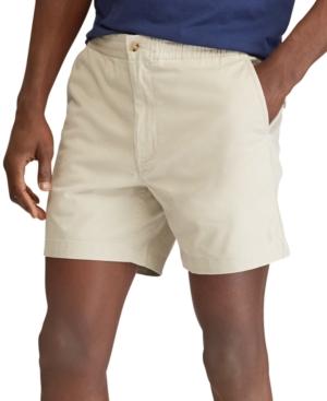 "Polo Ralph Lauren Men's Classic Fit Stretch Prepster 6"" Shorts"