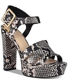 GUESS Lylah Platform Dress Sandals