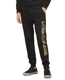 Calvin Klein Jeans Men's Vertical Logo Sweatpants