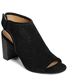 High Impact Peep Toe Booties