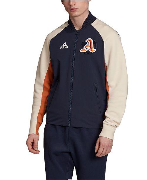 adidas Men's ZNE Varsity Bomber Jacket