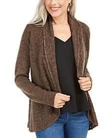 Marled-Knit Cardigan, Created for Macy's