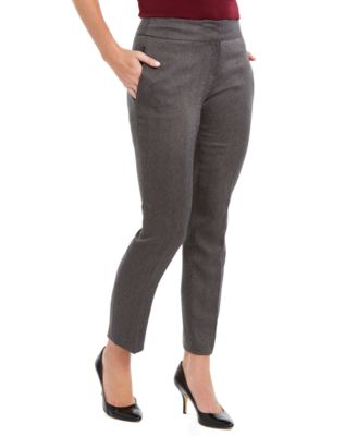 Herringbone Career Pants