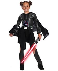BuySeasons Girl's Star Wars Classic Deluxe Darth Vader Dress Child Costume