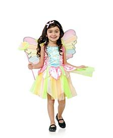 Rainbow Princess Fairy Big Girls Costume