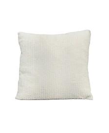 Stratton Home Decor Faux Fur Design Pillow