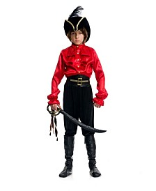 BuySeasons Boy's Pirate Captain Shirt