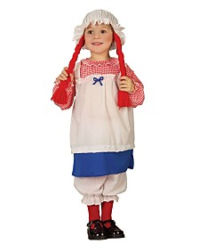 BuySeasons Little and Big Girl's Rag Doll Child Costume